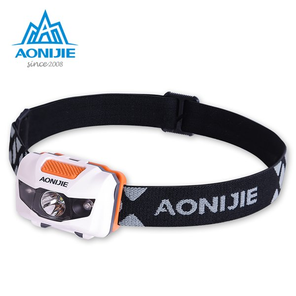 AONJIE E4065 Waterproof Adjustable LED Headlight Headlamp Flashlight Light For Running Fishing Camping Hiking Cycling