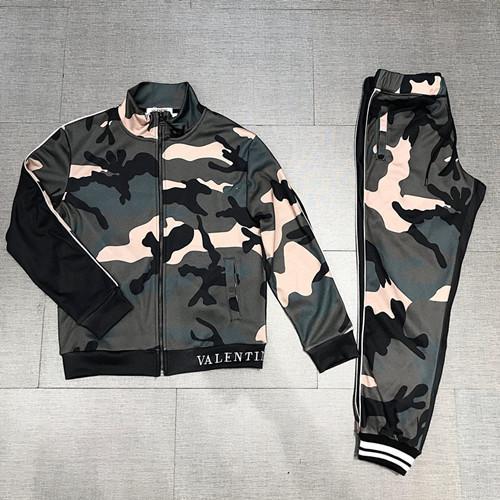 Veste de survêtement décontracté Sportswear pour hommes verts de l'armée verte + pantalon ensemble Sweat-shirt pour homme ensemble livraison gratuite