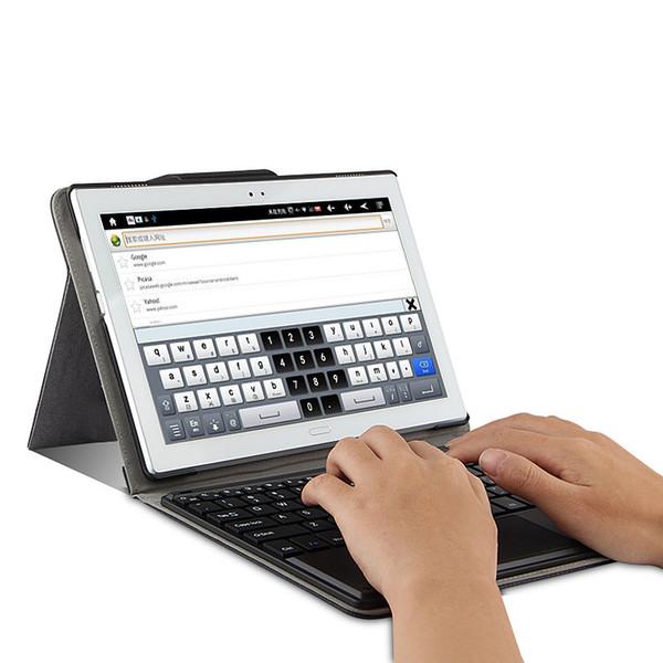 Moda touchpad teclado case para lenovo pad 4 10 plus tb-x704n tb-x704n tablet pc para lenovo tab 4 10 plus TB-X704N teclado