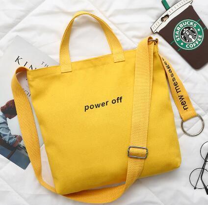 Embroidered canvas bag, ladies' shoulder bag, Satchel Bag, laptop bag