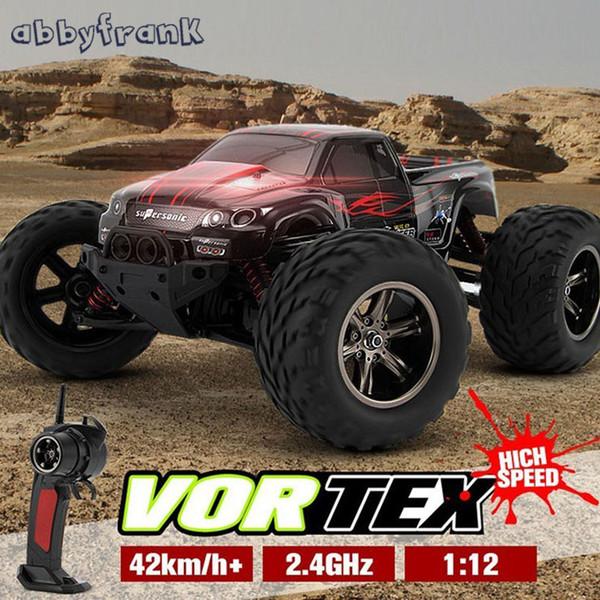 Abbyfrank KF S911 1/12 2WD 42km/h RC Car High Speed Remote Control Off Road Dirt Bike Classic Toys Truck Traxxas Big Wheel Gift