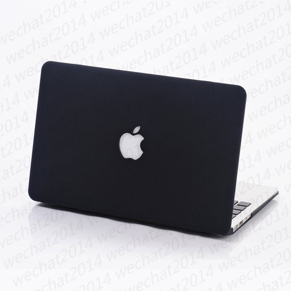 "Rubberized Frosted Matte Hard Shell Laptop Cases Full Body Protector Case Cover for Apple Macbook Air Pro 11'' 12'' 13"" 15"""