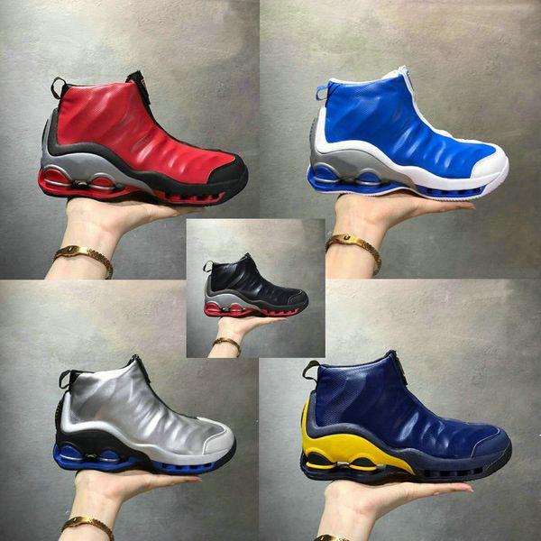 Acheter 2018 Nouvelles Chaussures De Basket Ball Shox VC 1 Vince Carter Sliver Noir Royal OG VNDS RARE Pour Hommes, Femmes Et Enfants VC 1 Shox Vince