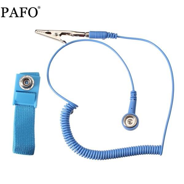 Power Tool Accessories Efficient New Adjustable Anti Static Bracelet Electrostatic Esd Discharge Cable Reusable Wrist Band Strap Hand With Grounding Wire Back To Search Resultstools