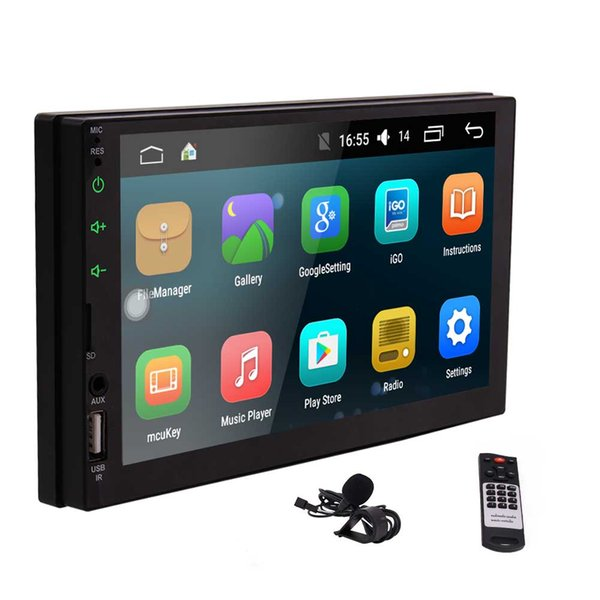 """Android 6.0 Car Stereo Video Player Eincar 7"""" Double Din In Dash Car Radio Touchscreen GPS Navigator Bluetooth WIFI GPS Navigation System"""
