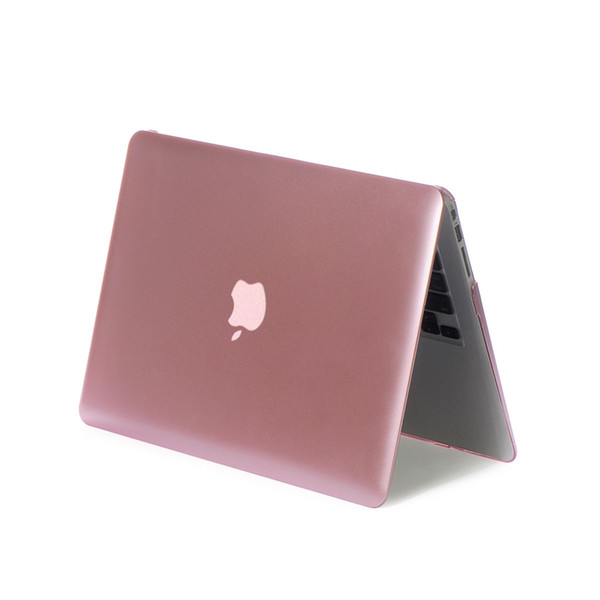 Free Shipping High Temperature Color Protective Wear resistant shockproof Metallic Apple Laptop PC Case for Macbook Air 11.6 inch