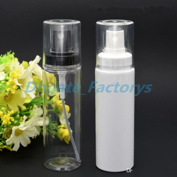 60ML 100ML wholesale empty PET atomizer spray bottle , round 60ML clear bottle sprayers ,buy cheap 60ml spray bottle