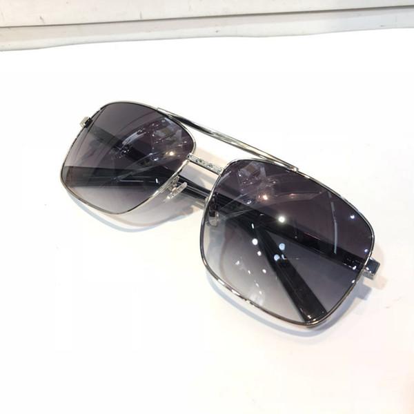 silver Gradient grey lens