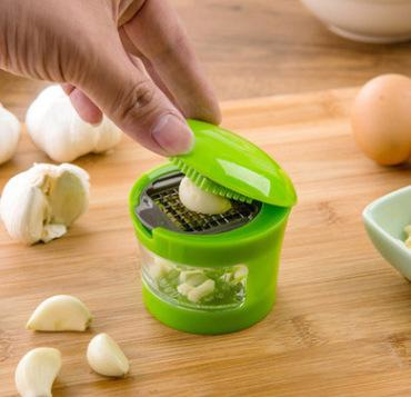 Home Garden Dining Shredder domestique avec coupe-ail Coupe-ail multifonctionnel Ustensiles de cuisine presse ail 3778