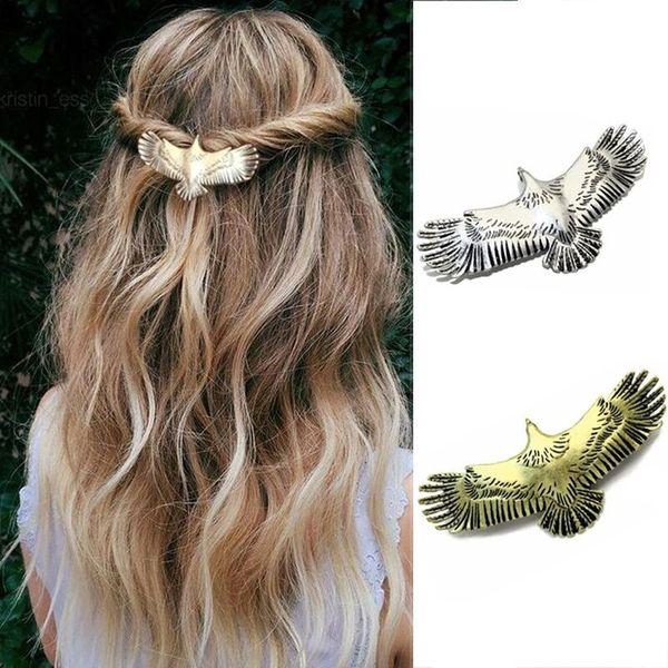 Großhandel Viking Hair Jewelry Eagle Animal Vintage Style Antikes Gold Und Antik Silber Haarspangen Haarnadeln Für Frauen Von Newlake 3382 Auf