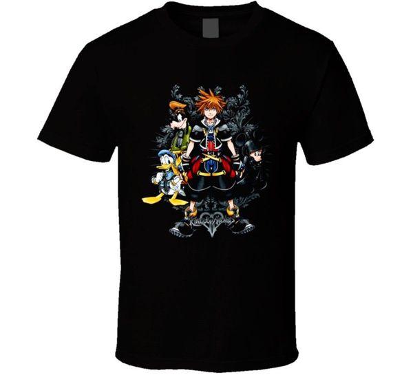 Kingdom Hearts 2 Heroes Video Game T Shirt Cool Casual pride t shirt men Unisex New Fashion tshirt Loose Size top ajax