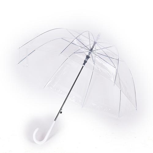 Fashion Transparent Umbrellas Female Male Rain Long Handle Straight Stick Umbrella Women Men rain Big Bumbershoot
