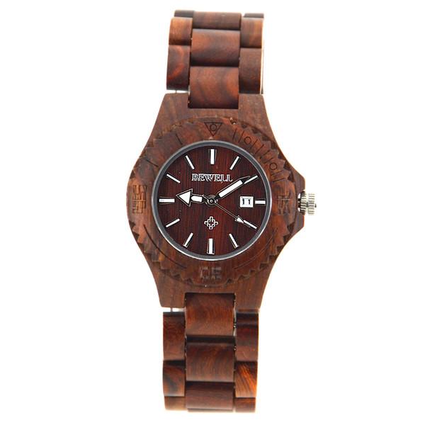 Chaper Quartz battery wirstwatch female woman girl popular natural cool wooden watch
