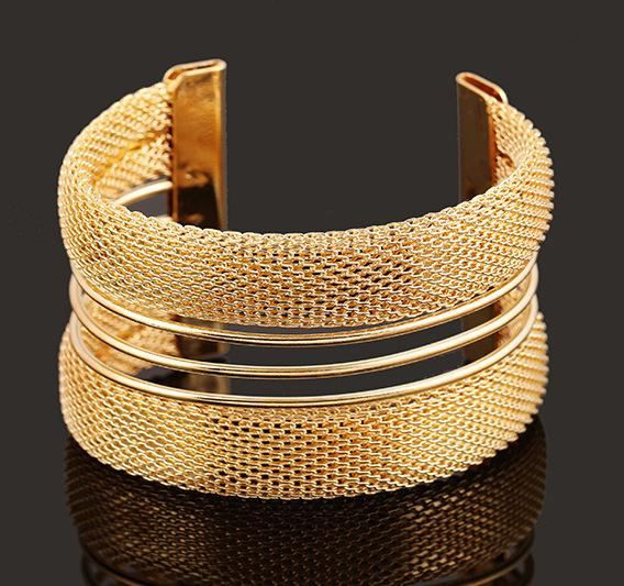 Bracelets & Bangles for Women Men Fashion Jewelry 925 Sterling Silver Gold Plated Alloy Steampunk Cuff Bangles Silver Bangle Bracelets