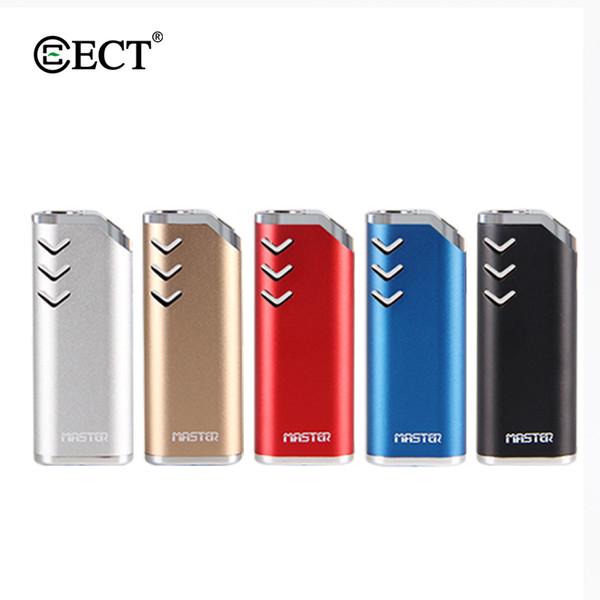 100% original ECT Master mod para óleo Grosso Vaporizador e cigarro Starter kits cartuchos 650mAh bateria de pré-aquecimento VV vape mods