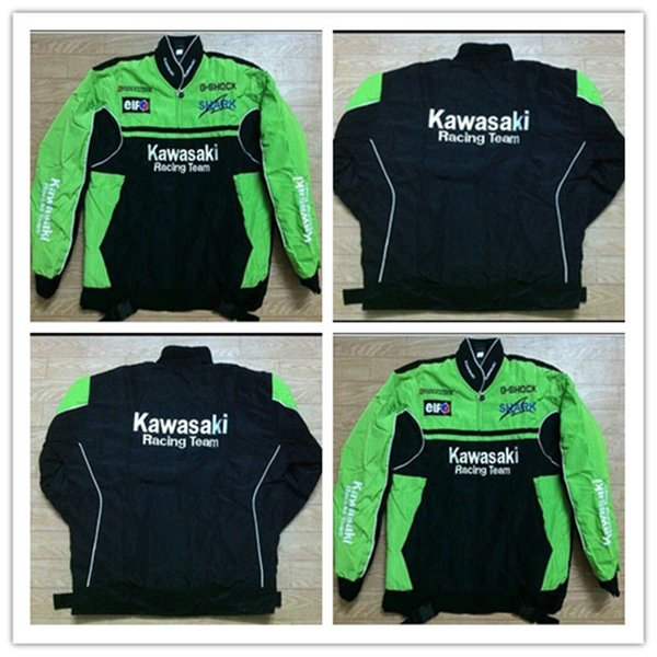 2018 KAWASA coton broderie Nascar Moto Car Racing Racing Suit