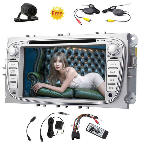 Eincar Android Car Stereo OCTA Core 7''Double Din Car DVD Player For Ford Focus In Dash GPS Navigation Headunit AM FM Radio Receiver