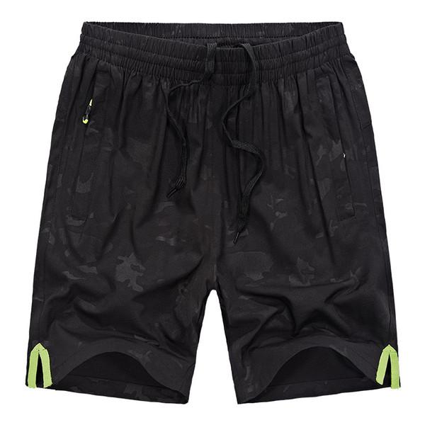 2018 Nuevo Secado rápido Transpirable Plus Size Mens Camuflaje Pantalones Cortos Hombres Board Sport Surf Beach Corto Running Gym Shorts Envío Gratis