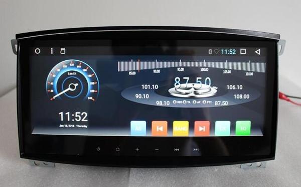 "IPS 2G Ram 10.25"" Android 6.01 Car Audio for Toyota Landcruiser Land Cruiser 100 GX 2005 Headunit Stereo Vedio GPS Navi Radio"