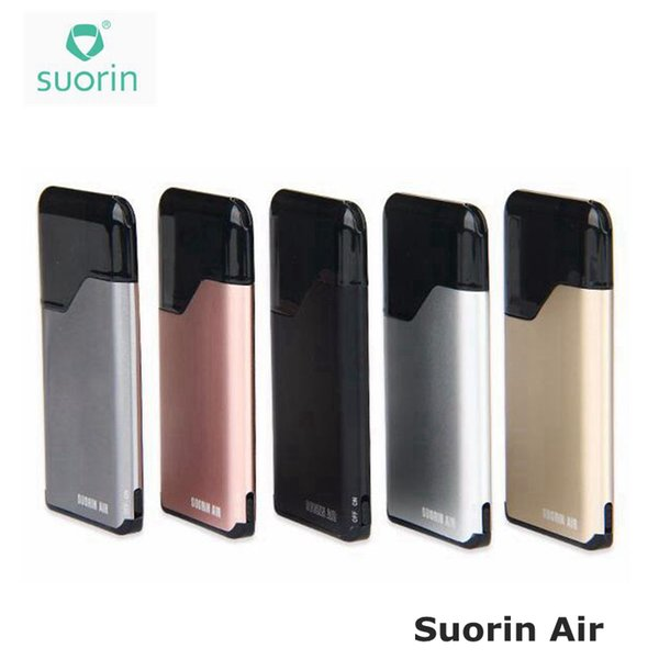 100% Auténtico Suorin Air Starter Kits 16W 400mah Batería y 2ml Cartridge Hot Electronic Cigarette ecigs Kit