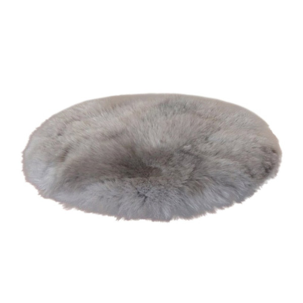 Artificial Sheepskin Rug Skins Carpet Soft Carpet Seat Pad Round Area Rugs Floor Mat 2 Colors Home Decorator Carpets For Kitchen
