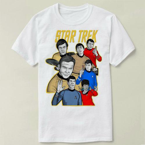 star trek Spock Live Long Prosper Men's T-Shirts Tee Plus Size S-3XL Shirt Summer Short Sleeve Men T Shirts Male TShirts cmt