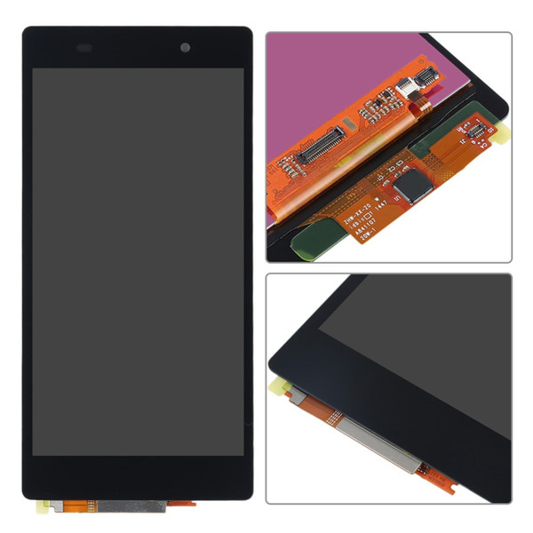For Sony Xperia Z2 D6502 D6503 D6543 LCD Display Touch Screen Digitizer Panel Full Assembly Replacement parts D6503 LCD