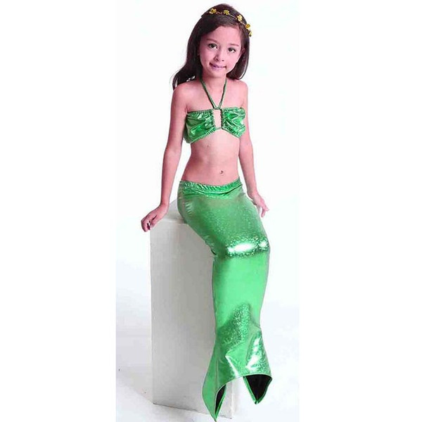 3-12 Years Old Children Girls Mermaid Tail Costume Swimsuit Ariel Little Baby Kid Mermaid Tails Bathing Suit for Girls Children