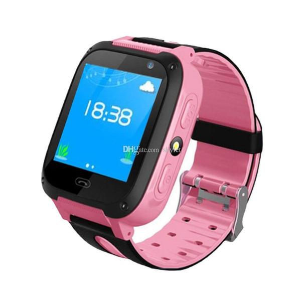 Q9 Kid Smart Uhr Smart Armband Baby Uhr mit Fernbedienung Kamera LBS SOS Safty Uhren SIM-Kartensteckplatz mit Kleinkasten