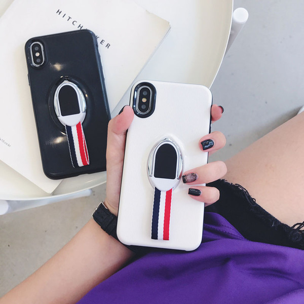 Para iphone x 8 7 6 s plus perfeitamente equipado caso ímã suporte anel de dedo à prova de choque shell escudo de proteção tampa traseira alta compatível