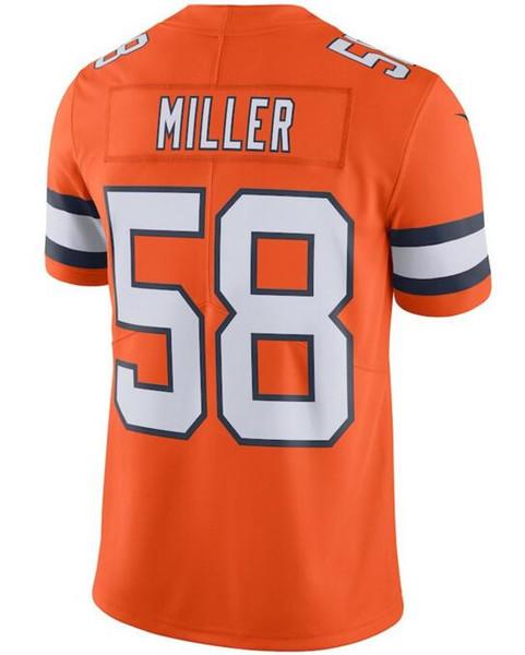 wholesale dealer 88301 f0117 2018 Denver Bradley Chubb Broncos Jersey Von Miller Case Keenum Peyton  Mannin Chris Harris Jr Personalized Cheap American Football Jerseys Sport  From ...