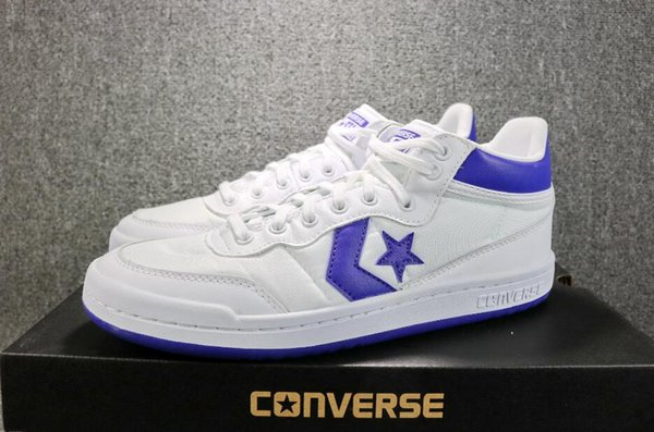 2018 Converse Fastbreak 83 Mid Shoes Classic Retro White Blue Red Designer Canvas Casual Converses Skate Sneakers 7 11 Mens Loafers Buy Shoes Online