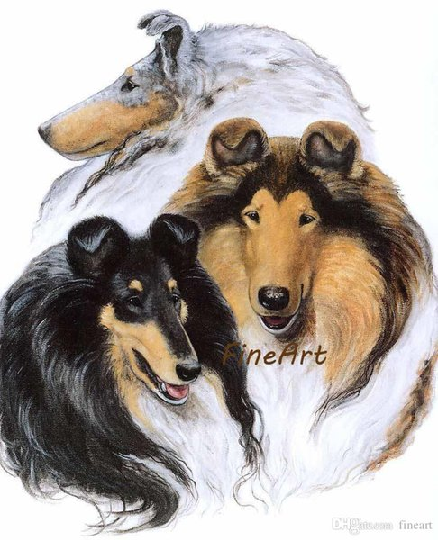 hand painted good qulaity animal arts oil paintings wholesale wolf artwork gallery canvas painting bedroom art nature painting