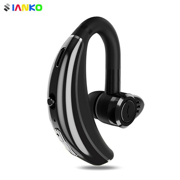 Q8 IPX6 A prueba de agua Bluetooth Auricular Gancho para la oreja Auricular inalámbrico CSR Chip HD Mic Cancelación de ruido Auriculares deportivos personalizados para hombres de negocios
