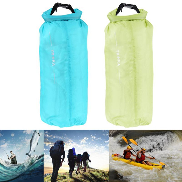 8L Waterproof Bag Storage Dry Pouch for Canoe Kayak Rafting Camping Swimming Camping Hiking Storage Backpack