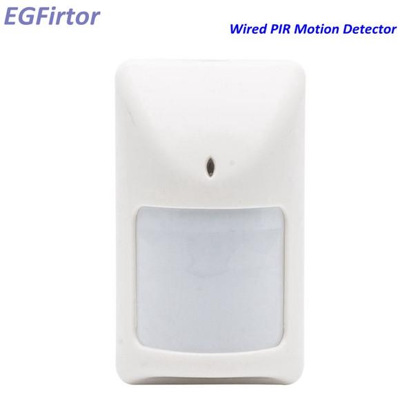 Alarma infrarroja al por mayor del alambre del sensor de movimiento PIR de la pared con la salida de la retransmisión antimanipulación para el sistema de alarma de la seguridad en el hogar