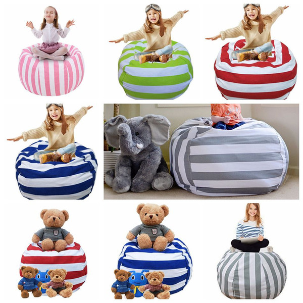 Excellent 38 Inch Extra Large Stuffed Animal Storage Bean Bag Chair Portable Kids Clothes Toy Storage Bags Ooa4639 Handbag Sale Handbag Brands From Squirreltailoven Fun Painted Chair Ideas Images Squirreltailovenorg