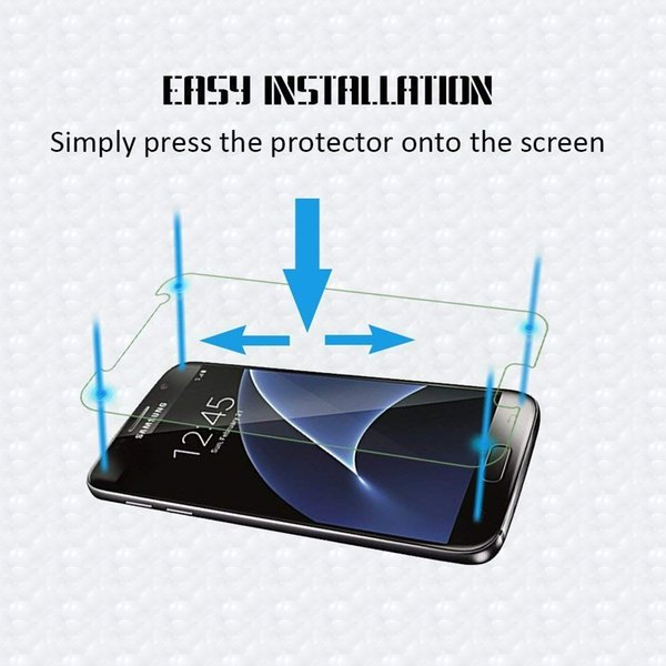 For Samsung Galaxy S5 Film Tempered Glass Screen Protector 9H 2.5D Anti-Shatter Coating for Samsung X cover3/G388 S6 S7 edge Galaxy Note III
