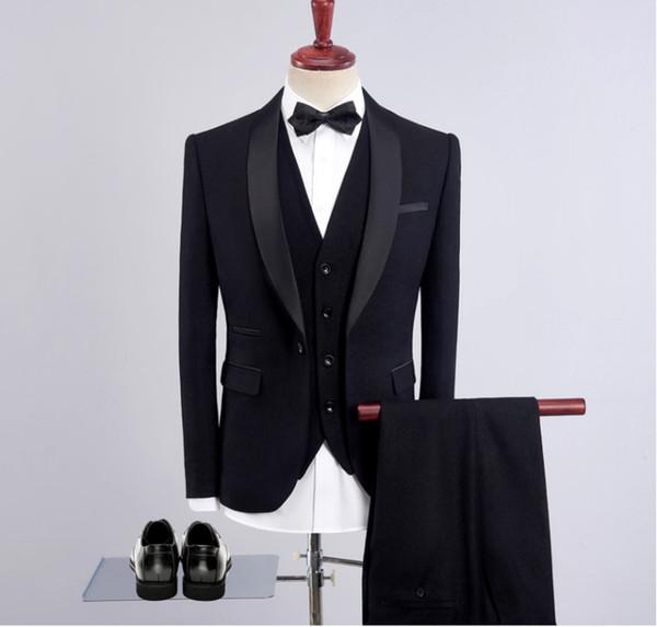 Nouveaux Smoking Des Le Acheter Vêtements Costume Porter Pour Hommes Robe Soirée Mariage Plage Garçons La Mince D'honneur De Sur Jeunes 5AL4j3Rq