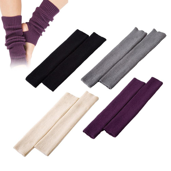 Woman Girls Professional Yoga Socks - Female Calf Knitted Boot Cover for Gym Fitness Dance Pilates Ballet Exercising