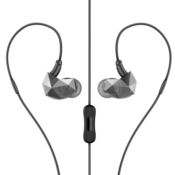 Mobile phone connection headphones enter ear type male and female general purpose creative noise reduction headset can receive phone two col