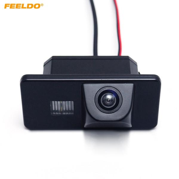 top popular FEELDO Special Car Combined Backup Rear View Camera For BMW 5-series(E60 E61 E63 E64) X5(E70) X6(E71 E72) 1-series(E81 E87) 3-series #4390 2021
