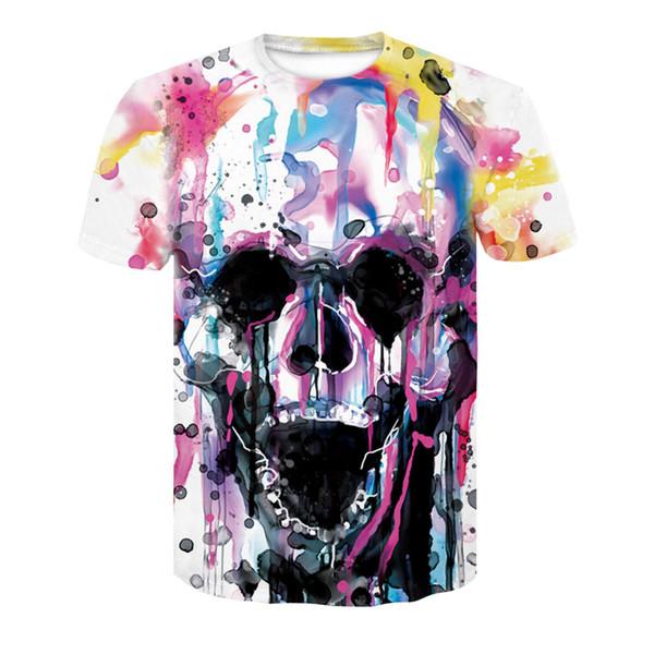 corolla skull 2018 t shirt men short sleeve shirt cute stencil tops fitness tshirt funny harajuku print summer fashion t-shirt