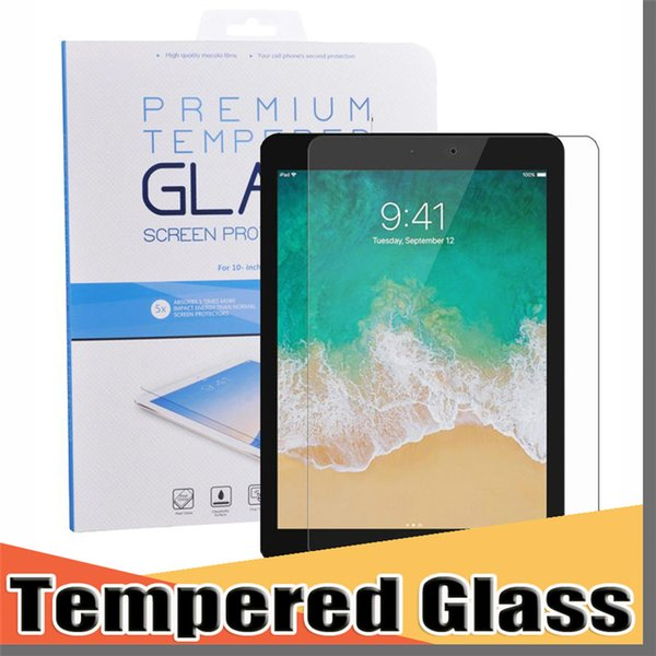 For iPad Air 9.7 Tempered Glass Screen Protector Guard Shield For New iPad Pro 10.5 2017 mini 3 4 Samsung Tablet