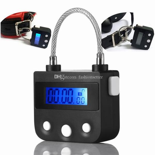 USB charging multipurpose timing lock chastity lock bdsm fetish for bondage adult games sex toys for couples