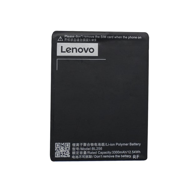 BL256 Replacement Battery For Lenovo Lemon K4 Note K4note / X3 Lite K51c78 / A7010 3300mAh 3.85v Li-ion Polymer Rechargeable Batteries