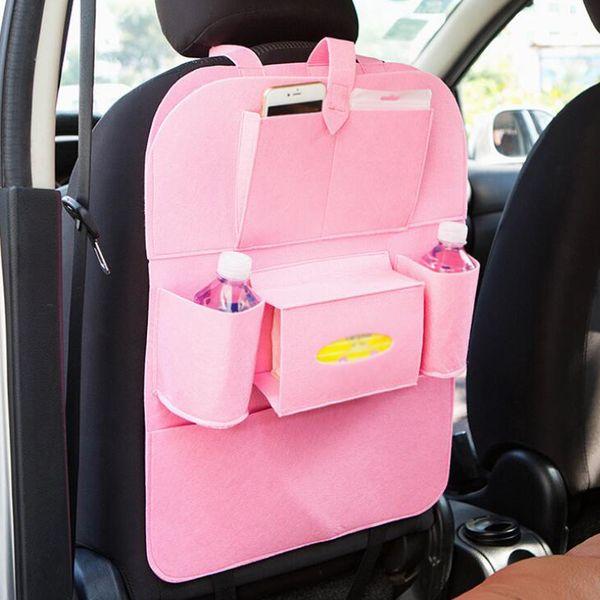 Hot Sell Car Seat Organizer Holder Multi-Pocket Travel Storage Bag Hanger Back