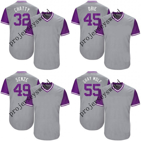 Colorado 37 Pat Neshek Neshek 45 Scott Oberg Obie 49 Antonio Senzatela Senze 55 Jon Gray Gray Wolf 2017 Players' Weekend Jerseys