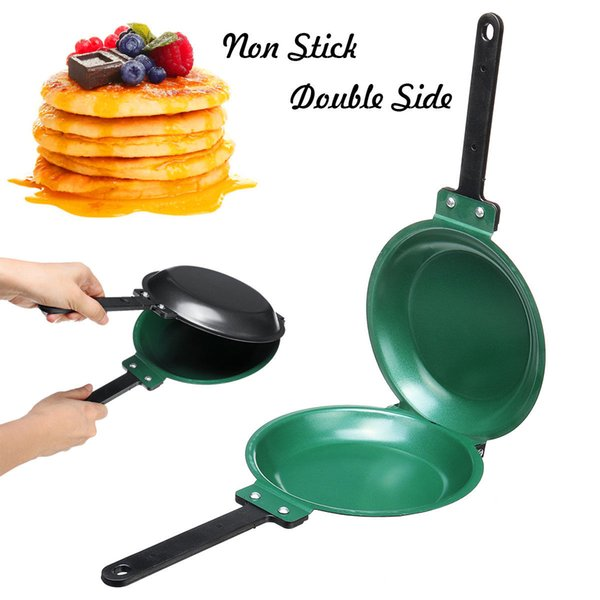 "7.5"" Flip Jack Pancake Maker Non Stick Cookware Pan Breakfast Eggs Double Side Frying Omelette Tools NNA150"