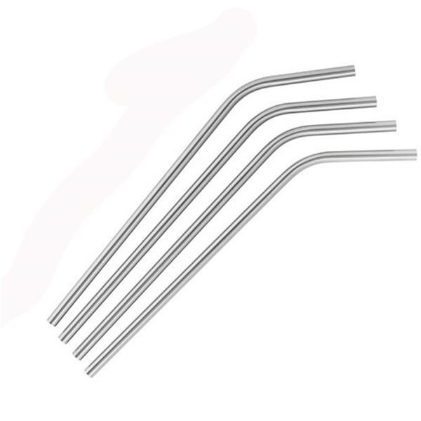 Bent straw 8 inch